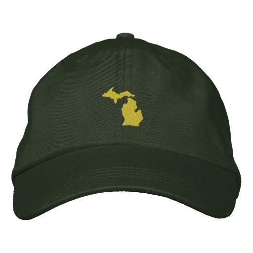Michigan Embroidered Baseball Hat