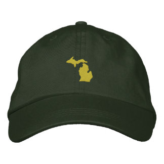 Michigan Embroidered Baseball Hat