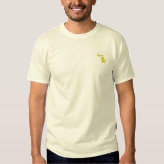 Michigan Embroidered T-Shirt