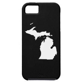 Michigan en blanco y negro iPhone 5 Case-Mate carcasa