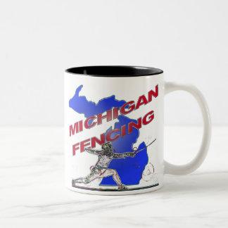 Michigan Fencing Mug - Sabre