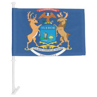 MICHIGAN Flag Car Flag