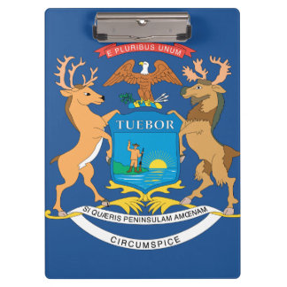 MICHIGAN FLAG CLIPBOARDS