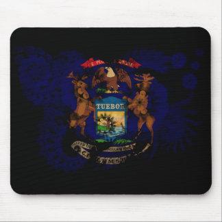 Michigan Flag Mouse Pad