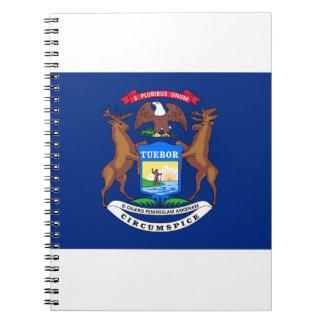 Michigan Flag Notebooks