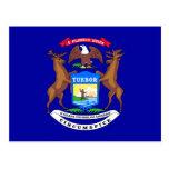 Michigan Flag Postcards