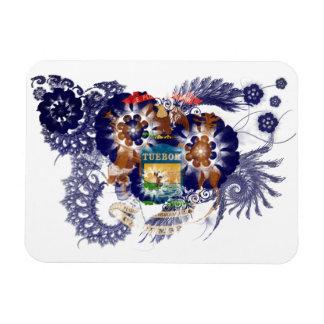 Michigan Flag Rectangular Photo Magnet