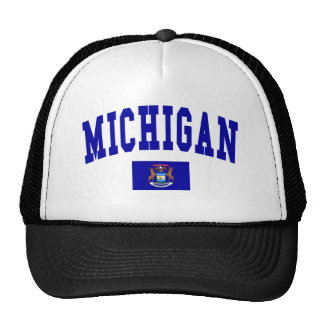 Michigan Flag Trucker Hat