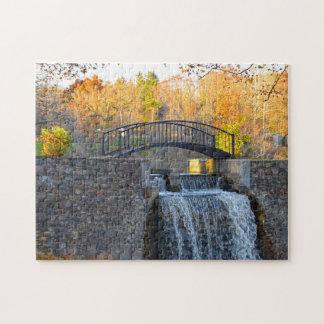 Michigan Footbridge. Jigsaw Puzzle