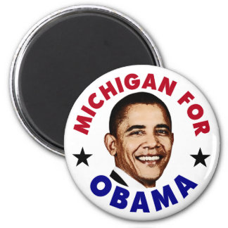 Michigan For Obama Magnet