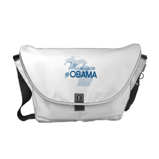 Michigan for Obama.png Courier Bags