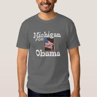 Michigan for Obama T-shirt
