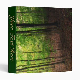 Michigan Forest Vinyl Binders