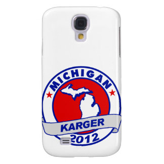 Michigan Fred Karger Galaxy S4 Cover