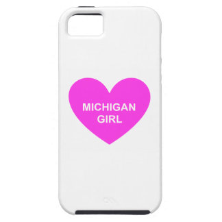 Michigan Girl iPhone 5 Covers