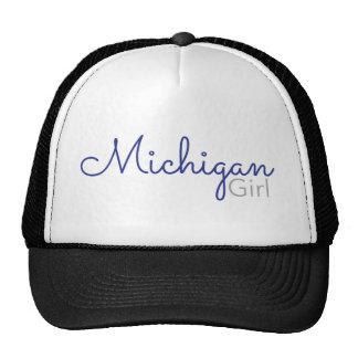 Michigan Girl Trucker Hat