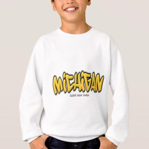 Michigan Graffiti Sweatshirt