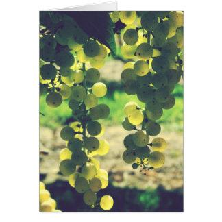 Michigan Grapes Card