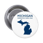 Michigan H5 Pinback Buttons