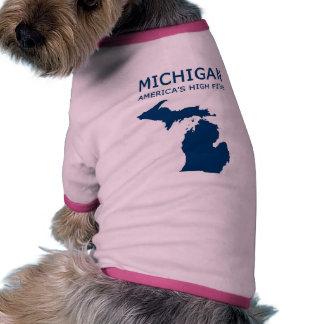 Michigan H5 Camisetas De Perro