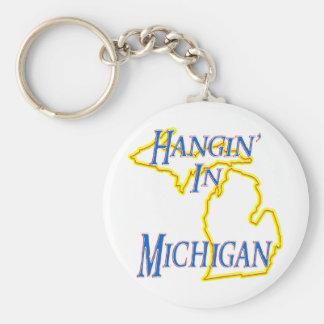 Michigan - Hangin' Key Chains