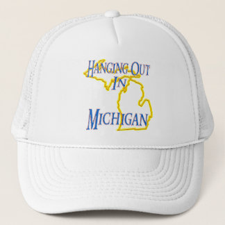 Michigan - Hanging Out Trucker Hat