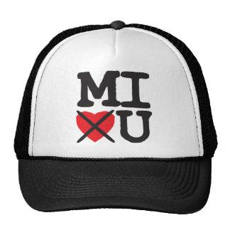 Michigan Hates You Mesh Hat