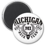 Michigan, Heck Yeah, Est. 1837 Fridge Magnet