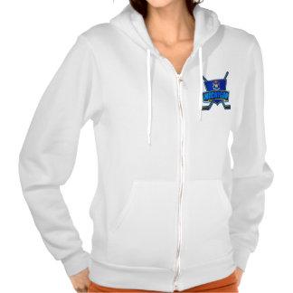 Michigan Hockey Logo Shield Hoody