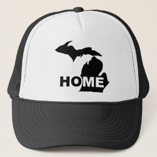Michigan Home Away From State Ball Cap or Hat