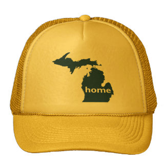 Michigan Home Trucker Hat