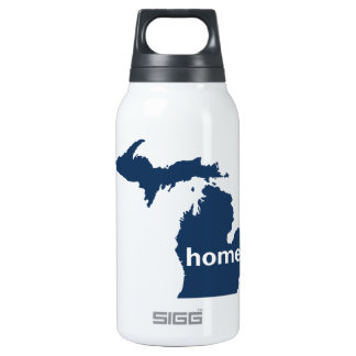Michigan Home Insulated Water Bottle