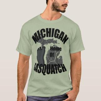Michigan Home of Sasquatch T-shirt