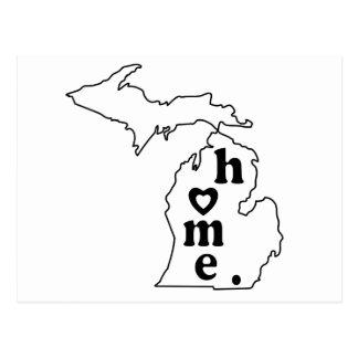 Michigan Home Postcard