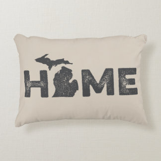 Michigan Home State Love Pillow