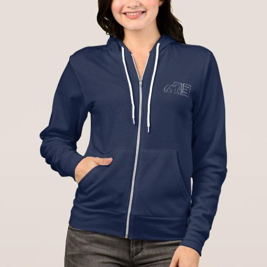 Michigan Horse Welfare Coalition Zip-Up Sweatshirt