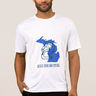 Michigan Horseshoes Micro-Fiber T T Shirt