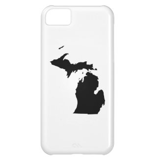 Michigan in Black and White iPhone 5C Cover