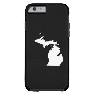 Michigan in White and Black iPhone 6 Case
