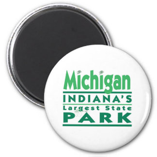 Michigan Indiana's Largest State Park Magnet