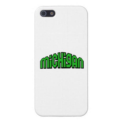 Michigan iPhone 5 Fundas