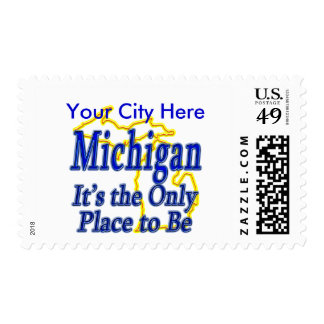 Michigan  It's the Only Place to Be Stamps