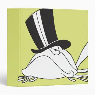 Michigan J. Frog Chill Vinyl Binder