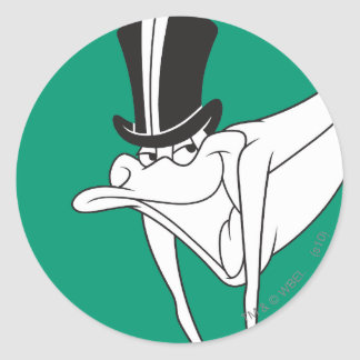 Michigan J. Frog Dacing Moves Classic Round Sticker