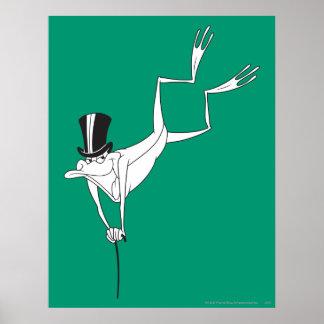 Michigan J. Frog Dacing Moves Poster