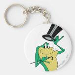 Michigan J. Frog en color Llavero Redondo Tipo Pin