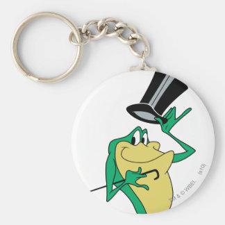 Michigan J. Frog en color Llaveros Personalizados