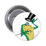 Michigan J. Frog en color Pin Redondo De 2 Pulgadas