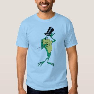 Michigan J. Frog en color Playeras