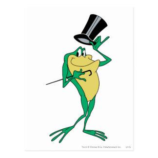 Michigan J. Frog en color Postal